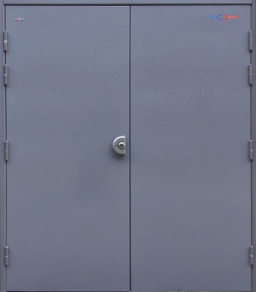 Double Emergency Exit Door