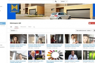 Hormann Launches YouTube Channel