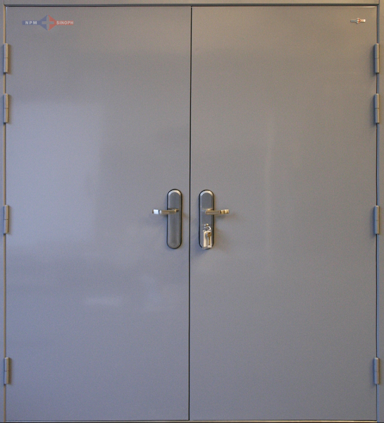 Double Steel Doors : Double multi point locking door
