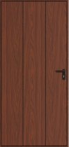Hormann Vertical Decograin Side Door - Vertical Decograin