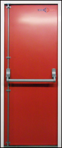 Single Emergency Exit Door - single-fire-exit-door