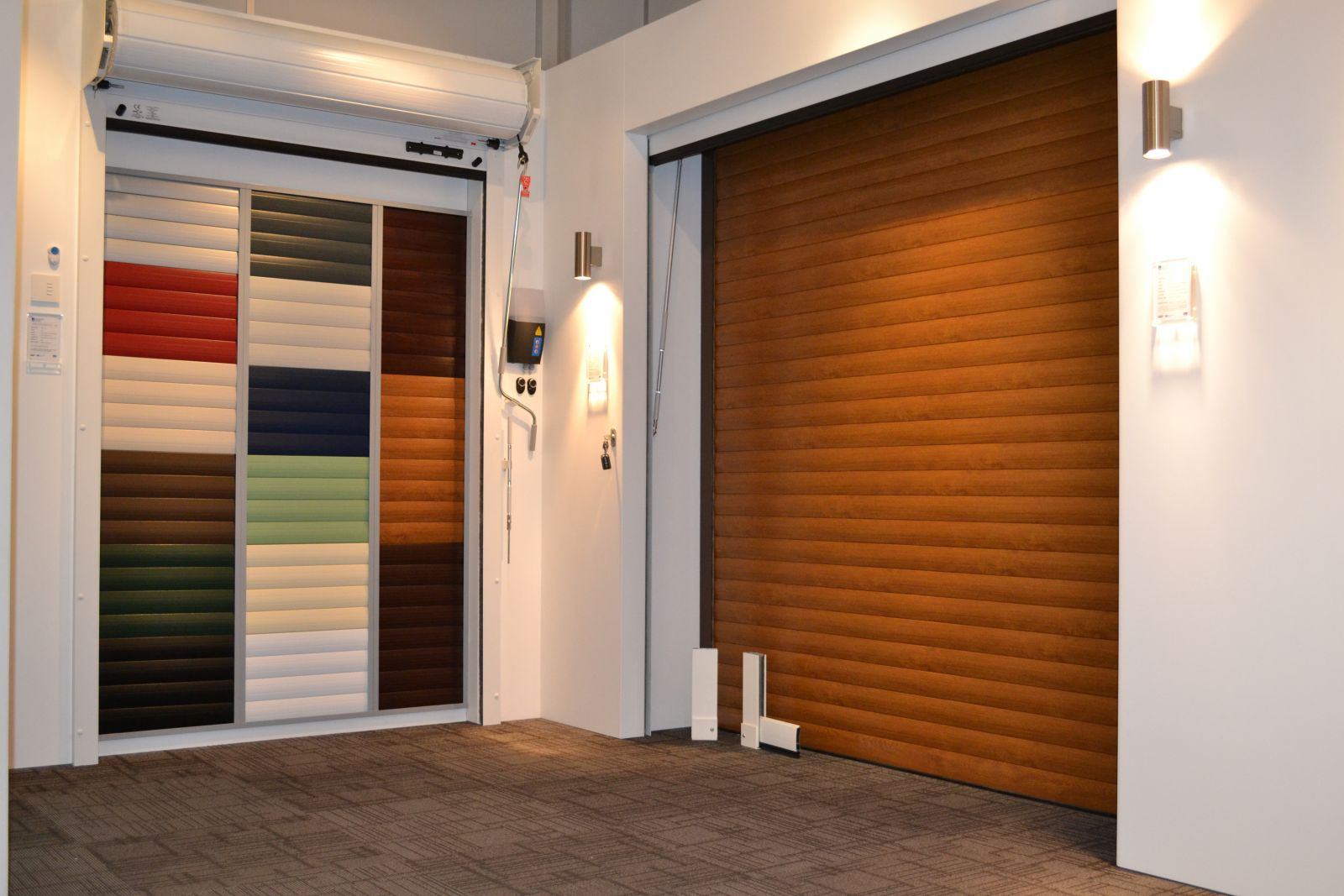 Personal Showroom Garage : Asfordby doors showroom door specialists based in leicester